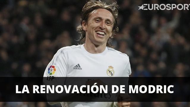 El Real Madrid oficializa la renovación de Modric