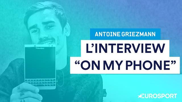 Dernier appel ? Contact le plus célèbre ? Bienvenue dans le téléphone d'Antoine Griezmann