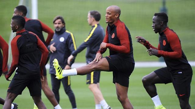 El Manchester City viaja a Barcelona sin los lesionados Sagna y Delph