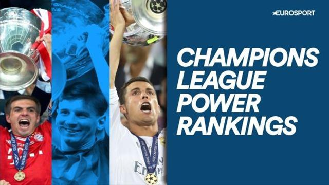 Champions League power rankings - who are the favourites on current form?