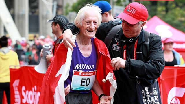 La hazaña de Ed Whitlock: Un maratón con 85 años y en menos de cuatro horas