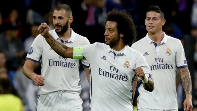 Champions League, Real Madrid-Legia Varsovia: Fuera palos; dentro caricias (5-1)