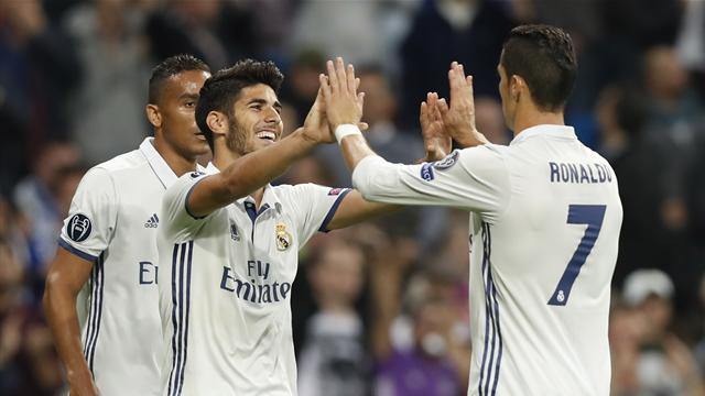 El Real Madrid golea al Legia con un buen partido de la segunda línea (5-1)