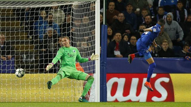 Mahrez continue de faire planer Leicester, Porto se relance à Bruges