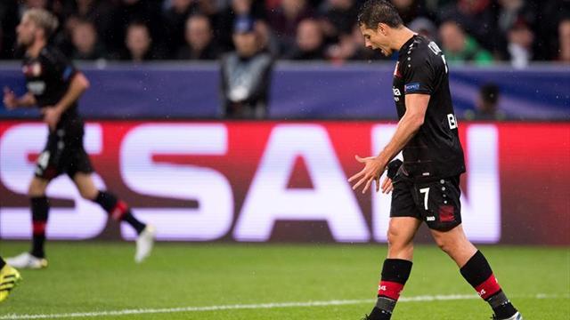 0-0. El Leverkusen y el Tottenham empatan en un partido de dos caras