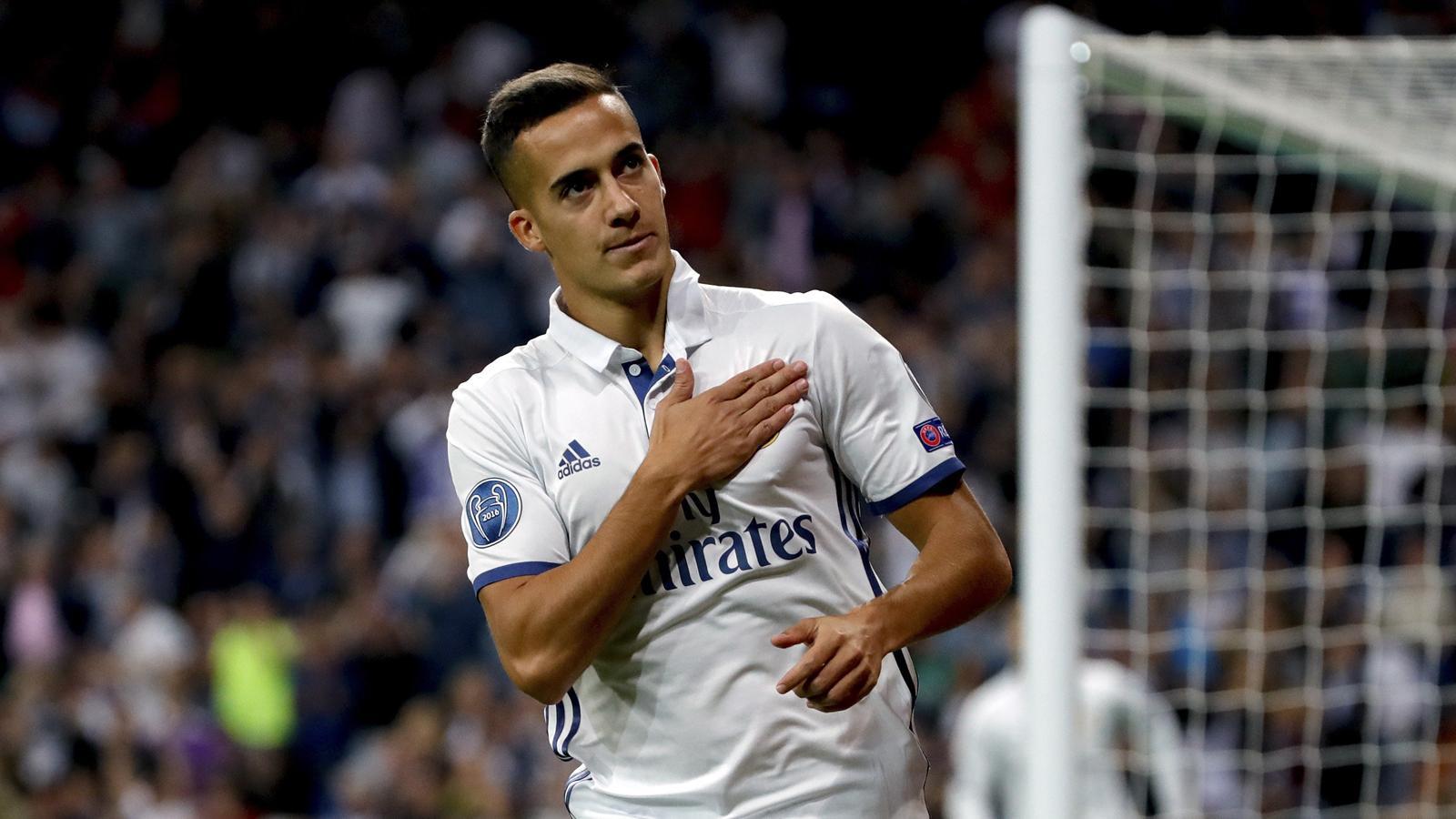 Real Madrid's Lucas Vazquez signs new contract - Liga 2016-2017 - Football - Eurosport