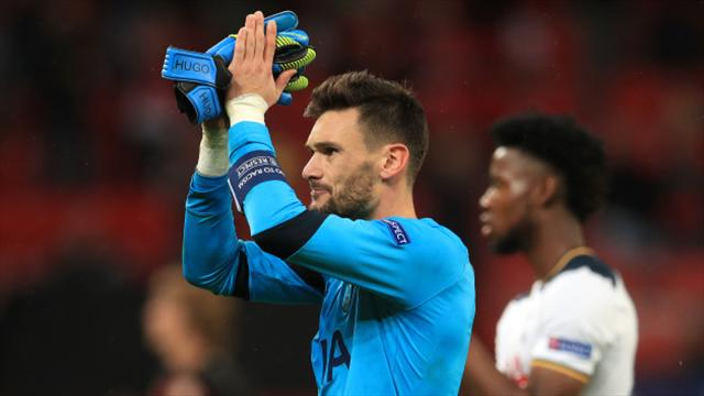 Hugo Lloris hailed as one of world's best keepers after display in Leverkusen