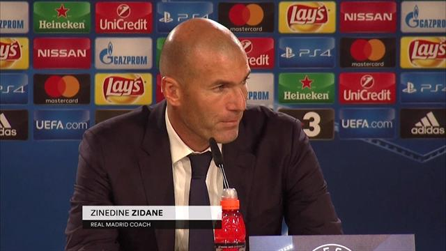 Zinedine Zidane: The most important things was to win