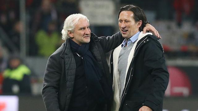 Trotz drittem Remis in der Champions League: Bayer-Coach Schmidt und Völler weiter optimistisch