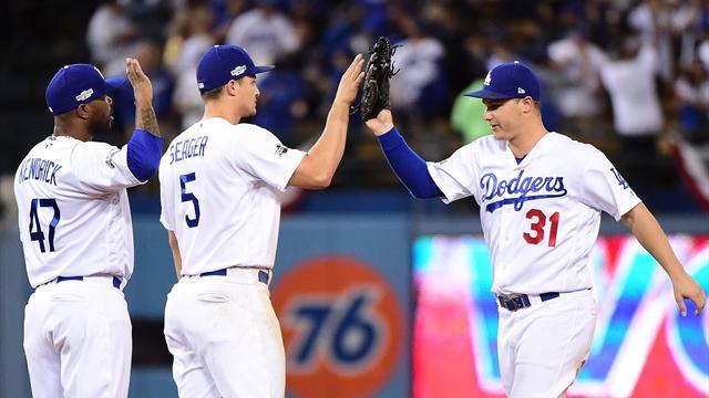 MLB-Play-offs: Dodgers gehen in Führung, Toronto verkürzt