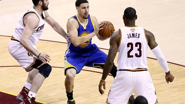 Los Gerentes Generales de la NBA coinciden en ver un tercer duelo Warriors-Cavaliers