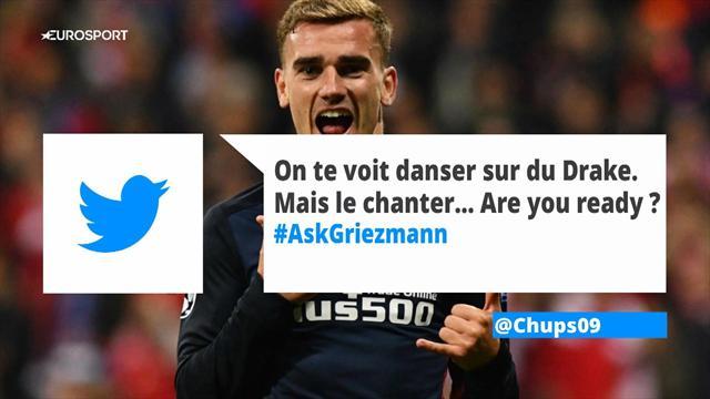 Sa célébrité, ses attaquants préférés et... ses fesses : Antoine Griezmann a répondu à vos questions