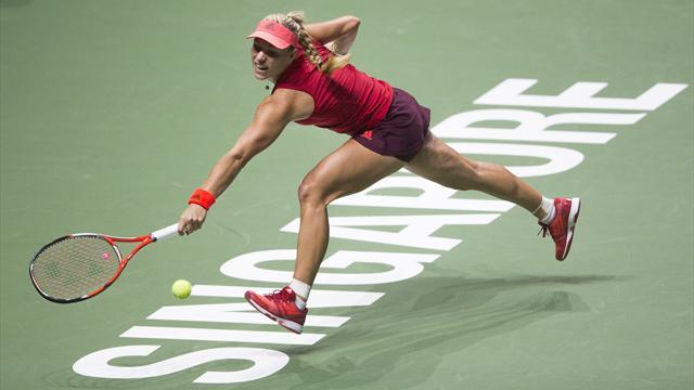 "Kerber will nach dem WTA-Finale ""ganz viel Ruhe"""