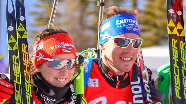Biathlon: Schempp und Preuß starten gemeinsam auf Schalke