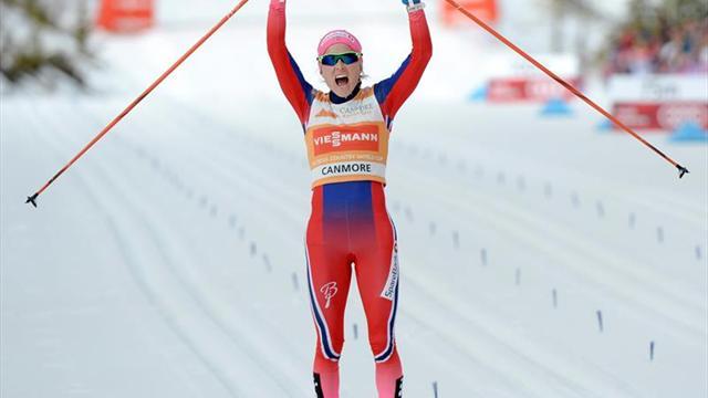Suspenden dos meses a la esquiadora noruega Johaug mientras se investiga su dopaje