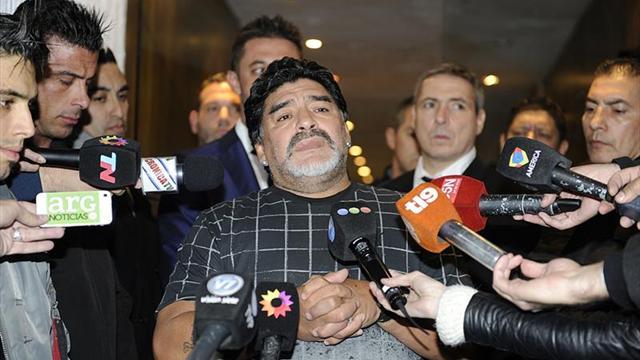 """Maradona reitera su rechazo a pagar su deuda tributaria en Italia: """"No debo nada"""""""
