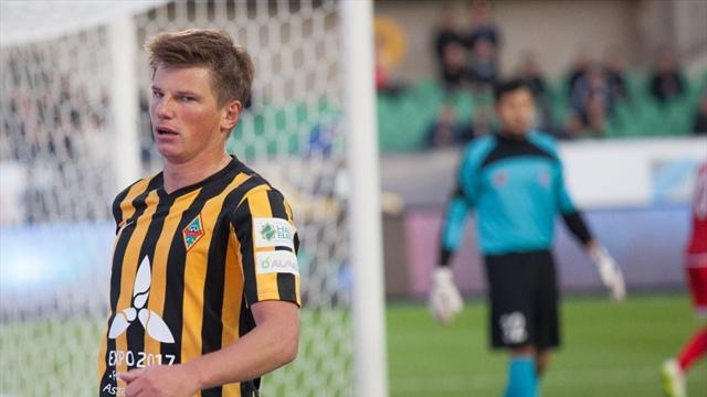 Аршавин— лучший игрок сентября вКазахстане
