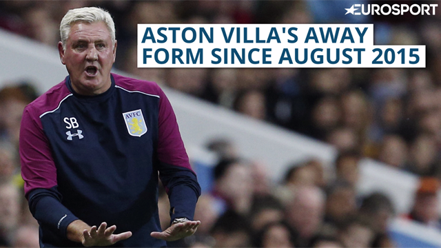 Aston Villa win away game after 437 days