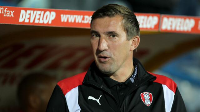 Rotherham sack manager Alan Stubbs