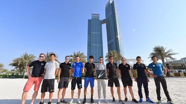 Contador y Movistar, número uno del mundo, despiden el curso en Abu Dhabi