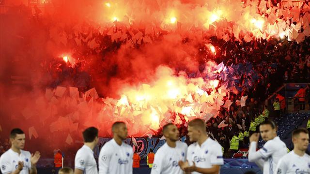 Nach Pyrotechnik-Einsatz: UEFA ermittelt gegen FC Kopenhagen