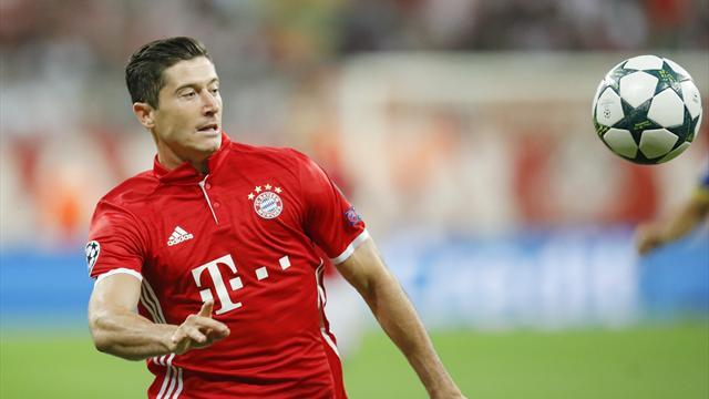 FC Bayern gegen Eindhoven wieder mit Lewandowski
