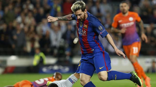 «Барселона» разгромила «Ман Сити», Месси сделал хет-трик