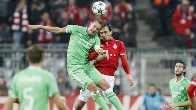 Dominante Bayern putzen Eindhoven weg