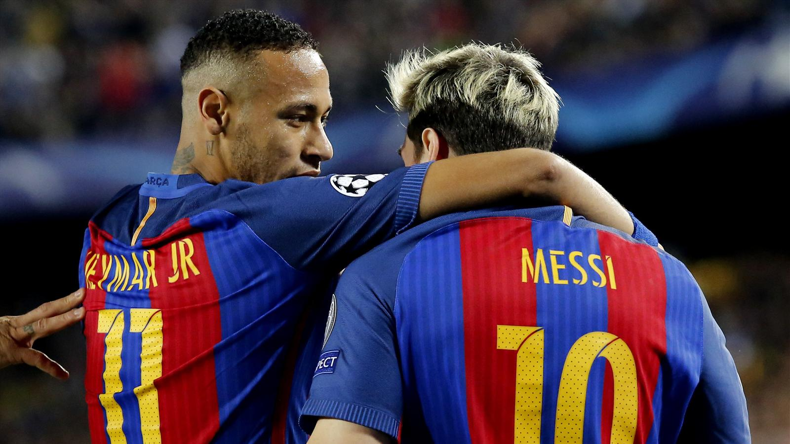 Messi hits hat-trick as Barcelona crush Manchester City at Camp Nou - Champions League 2015-2016 ...