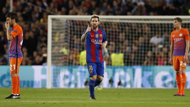 Messi et le Barça ont mis City au pas