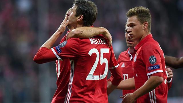 4-1. El Bayern acalla rumores de crisis con goleada al PSV