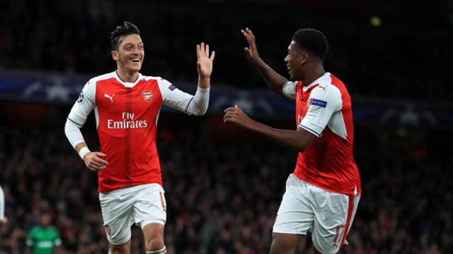 Mesut Ozil scores hat-trick as Arsenal make light work of Ludogorets