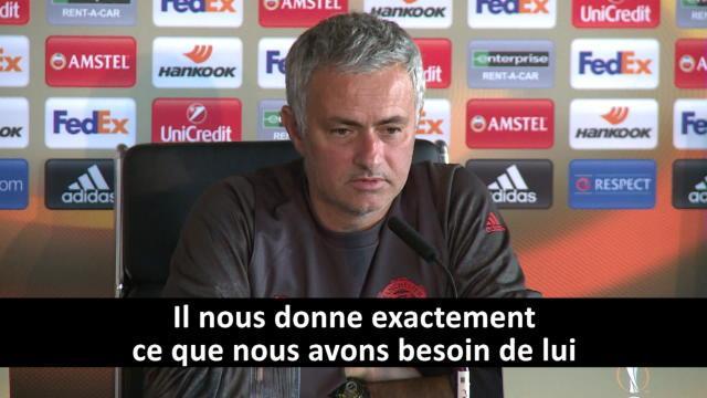 """Mourinho : """"Zlatan ? J'ai retrouvé le même joueur qu'il y a cinq ou six ans"""""""