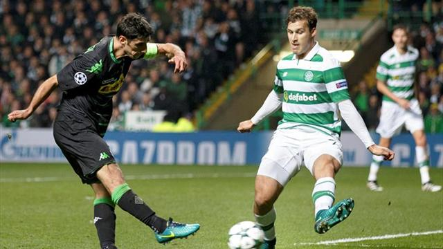 0-2. El presión del Mönchengladbach minimiza al Celtic
