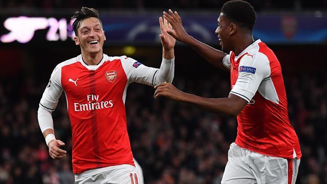 Özil-Gala bei Arsenal-Kantersieg - PSG ohne Trapp souverän