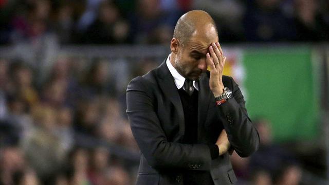 """Guardiola: """"Ha sido una derrota dura"""""""
