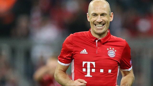 Arjen Robben: Mister Champions League führt Bayern aus der Krise