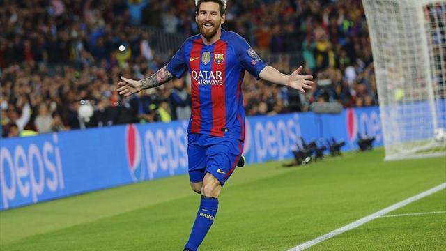 4-0. Un Messi estelar fulmina al City