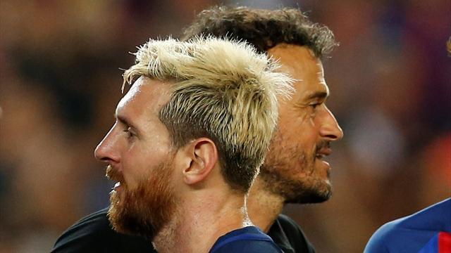 """Luis Enrique : """"Comme si Messi jouait dans la cour de récréation"""""""
