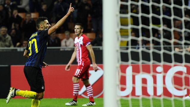 L'Inter s'offre un peu d'air face au Southampton de Puel et Boufal