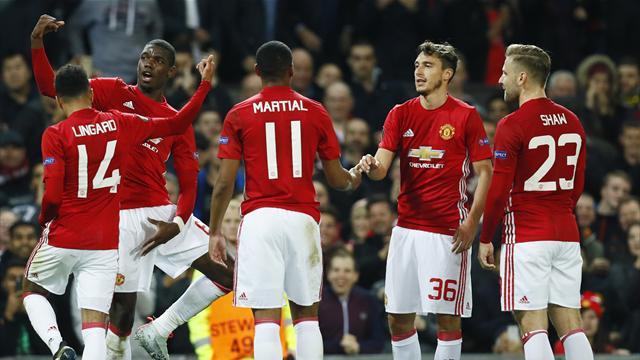 Pogba bags brace as United thrash Fenerbahce