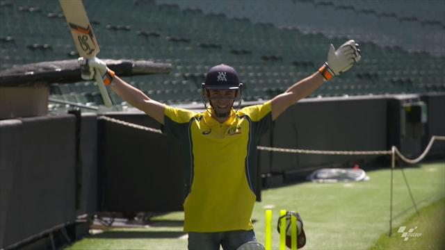 Marquez hones cricketing skills ahead of Australian GP