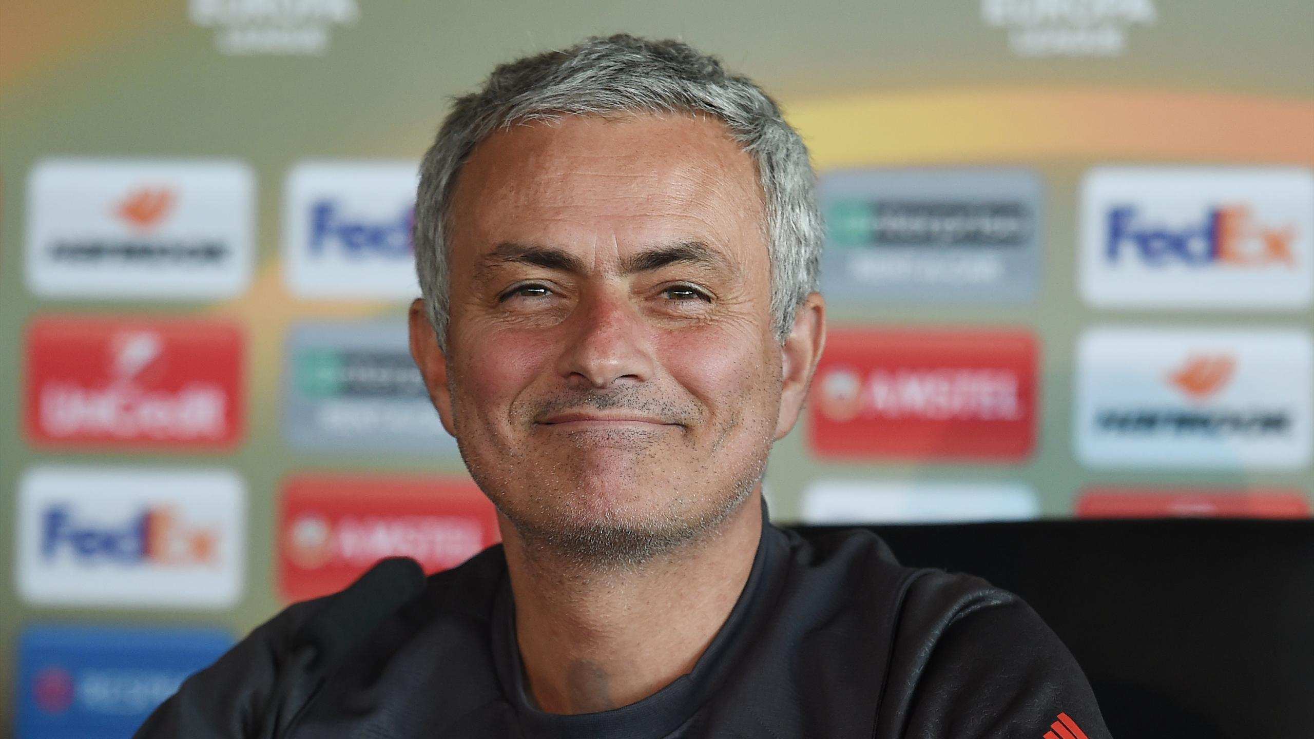 José Mourinho en conférence de presse