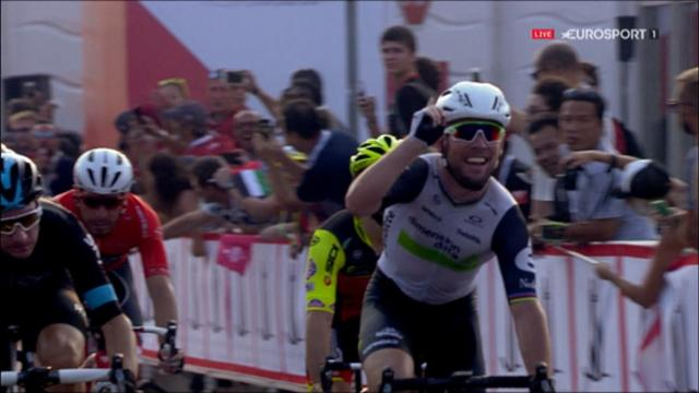 Cavendish clinches Stage 2 victory in thrilling sprint