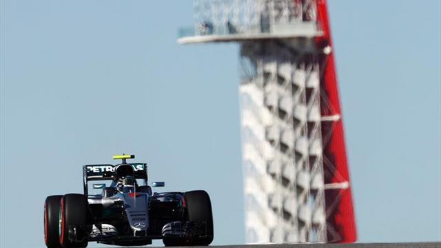F1-Hamilton lidera primeras prácticas libres de GP de EEUU