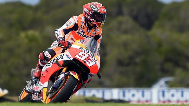 Probleme zum Saisonauftakt: Marquez nicht bei 100 Prozent