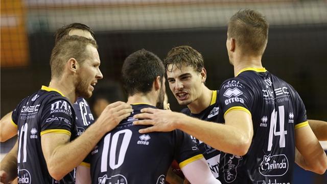 Quarti senza storia: Civitanova, Trento e Perugia volano in semifinale