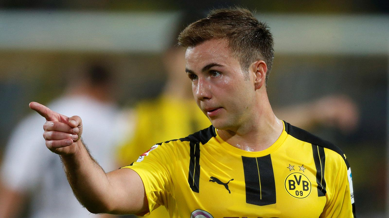 Mario Gotze to miss rest of season, but Borussia Dortmund attacker hopeful of full recovery ...