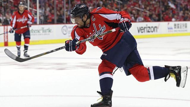 Овечкин стал 27-м всписке наилучших снайперов НХЛ