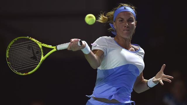 Konta misses out on WTA finals after Kuznetsova wins Kremlin Cup